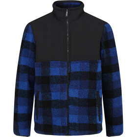 Regatta Cadao Chaqueta Polar Hombre, bright royal check/black